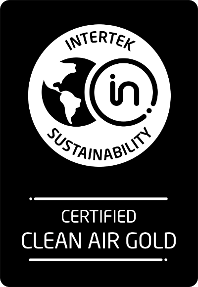 Intertek Certified Clean Air Gold Product