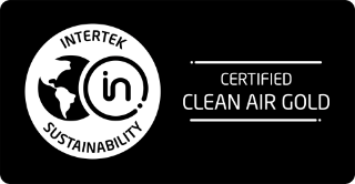 Intertek Sustainability Certified Clean Air Gold